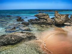 Elafonissi Crete (Jan Thomas Landgren) Tags: elafonissi grekland kreta resor travel vacation beach sea rock rocks water sand crete greece natur nature landscape blue ocean