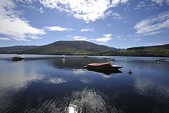 View from Lochearnhead (Pim Stouten) Tags: jag jaguar xj xj40 dunkeld lochearnhead scotland nature scenery loch lake meer see lac lago landschap landscape landschaft panorama vista