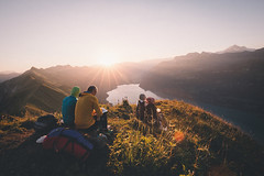 Swiss breakfast with a view. (Bokehm0n) Tags: landscape nature vsco explore flickr earth travel folk 500px mountain people outdoors dawn hike sky recreation adventure switzerland vscofilm bern 5dmkiii sunrise adult rock light scenic
