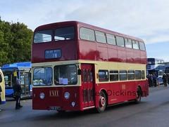 766 EVT, Atlantean, Weymann, PME L9766,   P1040871 (LesD's pics) Tags: bus coach showbus2016 766evt leylandatlantean weymann pmtl9766 potteriesmotortraction