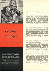 be slow to anger (Millie Motts) Tags: 1950s 1960s mormon advertisement