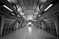 Cargo Bay Delta (Douguerreotype) Tags: london uk underground urban british architecture city tunnel britain subway tube gb metro england symmetry futuristic scifi