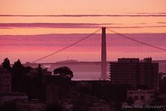 Coit Tower - 092316 - 08 - Golden Gate Bridge Viewed from Coit Tower (Stan-the-Rocker) Tags: stantherocker sony ilce sanfrancisco coittower telegraphhill northbeach sel18200le goldengatebridge