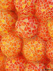 Gaudi in orange (Shahrazad26) Tags: sagradafamilia barcelona gaudi orange oranje architectuur architecture spanje spain spanien espagna espagne