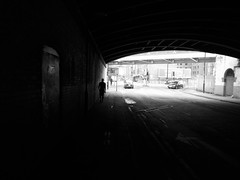 chasing shadows (vfrgk) Tags: man figure humanfigures walking shadows lightandshadows people urbanphotography tunnel urbanlife urbanfragment streetphotography streetscene streetlife streetsnap streetshooting blackandwhite monochrome bw urban cityscape citylife