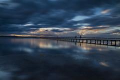I love long jetty!!! (fotowomble) Tags: sunrise sunset the entrance fotowomble clouds water seascape nd 6 stop hdr movement canon 650d australia