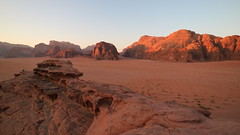 IMG_1930 (sheepman) Tags: wadirum jeep sunset