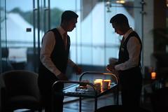 Mahi & Khoka (N A Y E E M) Tags: mahi khoka bartenders candle fire light yesterday evening baikalbar radissonblu hotel chittagong bangladesh sooc unedited untouched unposed availablelight indoors