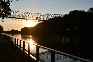 Abendstimmung im Ruhrgebiet