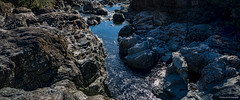 Ellis River near Port Alberni (Peterson Phtography) Tags: ellisriver elliscreek waterfalls water river rocks riverbed climbing hiking britishcolumbia canada westcoast vancouverisland portalberni rockformations nikond5200 nikon tourists nature forest mountains
