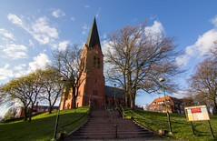 Nssj Church Sweden (StefanOlaison) Tags: primavera church spring sweden iglesia smland sverige suecia kyrka vr nssj hglandet tokina1116f28 vxjstift