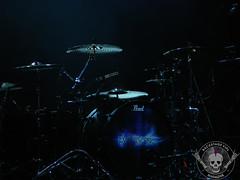 Will Hunt's Drum Kit (Backstage VIPs Magazine) Tags: show summer music hot st festival rock set tampa bay concert florida drum head live forum 98 sweaty will pete times fl kit fest evanescence hunt 98rock 98rockfest 42812