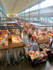 Schrannenhalle, market hall (La Citta Vita) Tags: shop retail germany munich mnchen display booths shops marketplace kiosks sellers foodhall schrannenhalle