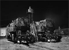 99 7241 - 5 and 99 7244 - 9 on shed (RhinopeteT) Tags: steam east german gauge narrow mpd wernigaroda