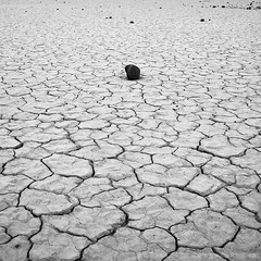Solitude - Death Valley National Park (JTBaskinphoto) Tags: california park white abstract black southwest texture rock canon landscape death desert mud patterns playa national american valley cracked 50d jtbaskinphoto jtbaskinphotocom