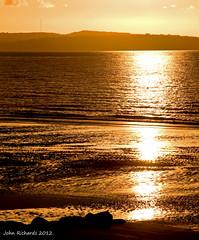 Setting Sun 27/04/12_3 (john.richards1) Tags: sunset sea sky sun water clouds nikon sigma angelsey settingsun northwales d700