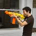 Nerf gunman