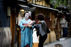 Maiko Kikushino of Miyagawacho (mbenghozi) Tags: voyage travel light portrait woman cloud sun cute tourism girl beautiful japan female night wonderful pose photography tokyo town photo nikon women kyoto asia raw photographer view photos extreme picture culture tourist best exotic maiko geiko journey geisha wanted fullframe nikkor michel 70200 lenses ochaya hilight travelphotography nikonlenses nikonlens  d3s montrealphotographer benghozi   70200vrii nikkor70200mmf28gvrii  girlsfromjapan  mbenghozi travelother higashiyamadri lensesnikkor wwwmichelbenghozicom michelbenghozicom travelandother beautiesofjapan