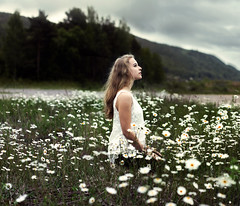 Dream On (Sophia Alexis) Tags: alexis flowers portrait girl norway self canon eos 50mm skies sigma 7d 365 32 sophia