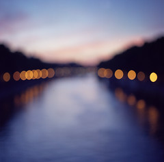 I don't know just where I'm going (Fabio Sabatini) Tags: bridge blue sunset blur rome roma analog river purple kodak dusk scan outoffocus trastevere hasselblad pro portra pontesisto planar crepuscolo kodakfilm portra160vc carlzeiss filmphotography v500  80mmf28 scanfromnegative shootingfilm bokeaji epsonperfection  160vcmedium  cm501 believeinfilm formatfilm6x6bokeh