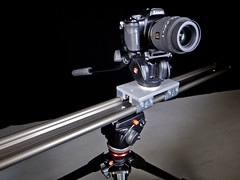 GH2 Setup (fujinliow) Tags: camera panasonic equipment rig slider dolly m43 gh2 sigmamacro sigma50mmf28 sigma50mmf28macro mirrorless videomaking mirrorlesscamera videoslider dmcgh2 panasonicgh2 sliderplate