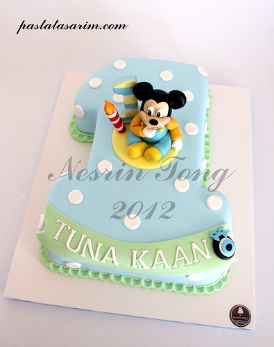 Mickey Mouse Baby Cake Ideas 2255