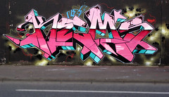 ONE FOR THE ROAD (ALL CHROME) Tags: ireland canon graffiti explorer belfast explore drugs spraypaint kemer kem poortaste nomdeguerre kem5 kems kemr