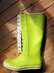 Destroy viking retro (camilla157) Tags: boots rubber viking wellies gummistiefel