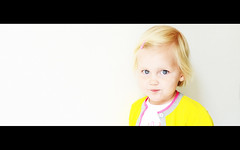 Danee 1 (Pascal Lagarde) Tags: pink girl smile yellow hair clip 2yearsold 26monthsold danee