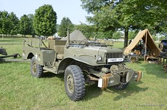 Dodge WC51 (Paul Mashburn's Captures) Tags: tanks oakridgetennessee secretcityfestival wwiireenactment halftracks