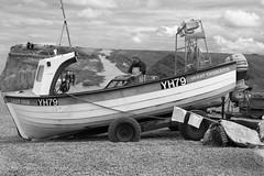 IMG_86373bw (Ian-GreenPhotography.com) Tags: sea blackandwhite bw boat blackwhite fishing fisherman sand norfolk pebbles weybourne northnorfolk weybournebeach