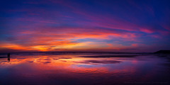 Goa Sunset (Anton Jankovoy (www.jankovoy.com)) Tags: ocean sunset sea india clouds evening goa  arambol
