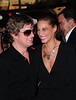 Rob Thomas and Marisol Thomas New York Premiere of 'Savages' at the SVA Theater - outside arrivals New York City, USA
