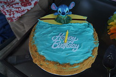 Stitch Birthday Cake (superpirate) Tags: water cake sand stitch birthdaycake luau surfboard tropical theme andrewsbirthday