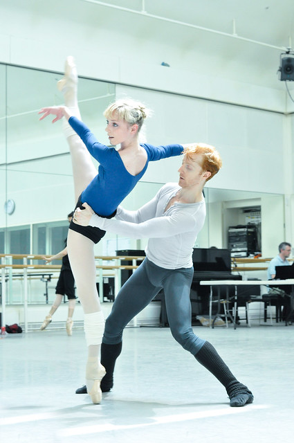 "Sarah Lamb and Steven McRae in rehearsals for Metamorphosis: Titian 2012. <a href=""http://www.roh.org.uk"" rel=""nofollow"">www.roh.org.uk</a>"