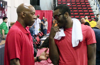 Sam Cassell and John Wall