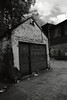 Shed on Canal Road (Saturated Imagery) Tags: blackandwhite slr film monochrome 35mm ir shed leeds derelict rolleiir400 prakticatl3 film:iso=400 epsonv500 film:brand=rollei developer:brand=rollei rolleiinfraredir film:name=rolleiinfraredir400 rolleid74 developer:name=rolleid74 vivita28mmf25 filmdev:recipe=7815 theviewfromairstripone