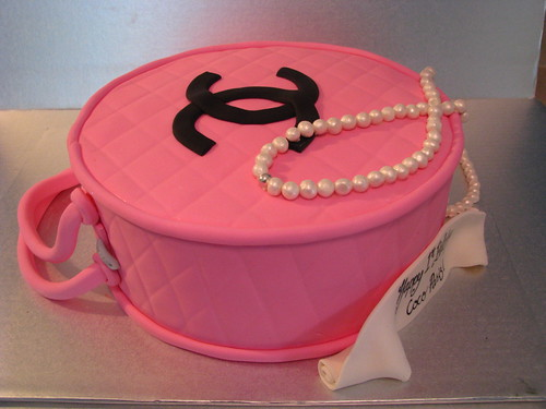 Chanel bag with pearls