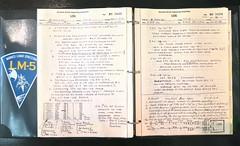 history notebook design log construction notes eagle space engineering 11 nasa 1968 apollo documents xi grumman buzzaldrin neilarmstrong lm5