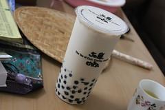 Boba Milk Tea (Apprecie) Tags: china brown cold ice coffee shop asian dessert milk cafe cool asia tea drink chinese cream taiwan creme pearl boba popular teas shoppe bobas milks