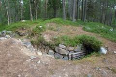 Trench (jptoivon) Tags: suomi finland army trench ww2 pillbox 2011 talvisota armeija potero jatkosota savukoski d300s tuliasema