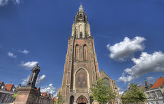 "Delft Church Tower • <a style=""font-size:0.8em;"" href=""http://www.flickr.com/photos/45090765@N05/7651624076/"" target=""_blank"">View on Flickr</a>"