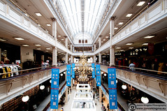 House of Fraser (Just a guy who likes to take pictures) Tags: voyage city uk greatbritain travel people urban house color colour classic shop architecture floors mall shopping scotland town store reisen europa europe downtown dress floor unitedkingdom glasgow balcony balkon centre colorphotography center architectural clothes stedelijk dresses stadt gb buy architektur winkel british fraser luxery centrum metropolitan geschft luxe stad stylish viajar chique metropole brits reizen architexture schotland einkaufen kroonluchter kleur stijl etage houseoffraser klassiek travelphotography colourphotography winkelen etages stijlvol reisfotografie publuc zentum kleurenfotografie archutectuur travelporn