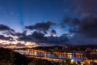 Taiwan_Keelung_Harbor_Sunrise_Daybreak_基隆港_晨曦_地標景觀台_IMG_4712