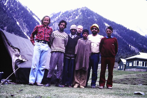 With Trek team in Aru, Kashmir