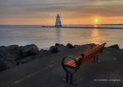 lighthouse sunrise (Rex Montalban) Tags: sunset lighthouse hdr photomatix rexmontalbanphotography photoshopelements9