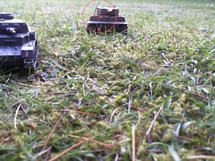 Lee fires on Tiger (Gampire) Tags: is moving tiger ii lee while combat fires panzer immobilized