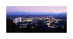 Asheville, 2016 (Joe Franklin Photography) Tags: blue mountains night evening asheville dream northcarolina ridge bluehour mtpisgah westernnorthcarolina eventide almostanything