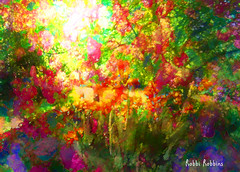 Flower Garden (brillianthues) Tags: flowers summer nature floral collage photoshop garden photography colorful photmanuplation