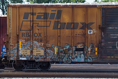 (o texano) Tags: texarkana graffiti trains freights bench benching onorok fist a2m adikts nsf